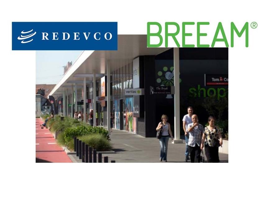 Redevco's Shopping Pajot (SInt-Pieters-Leeuw) krijgt BREEAM Good