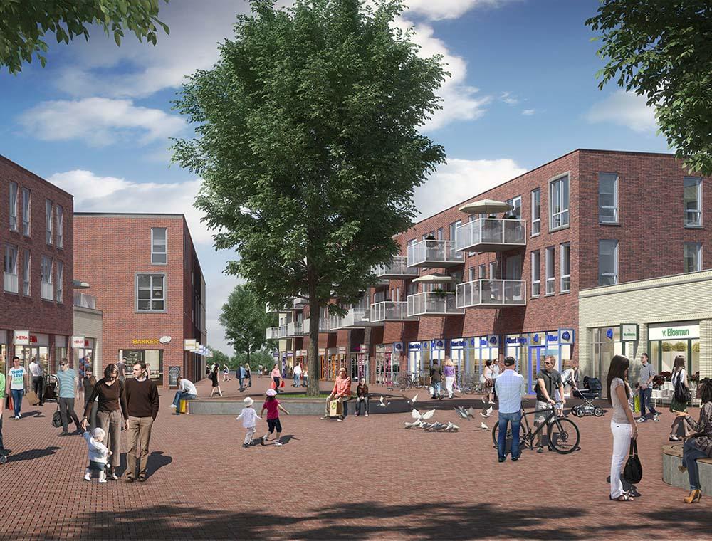 Start bouw winkelcentrum Schuytgraaf in Arnhem 2db53aa26141b
