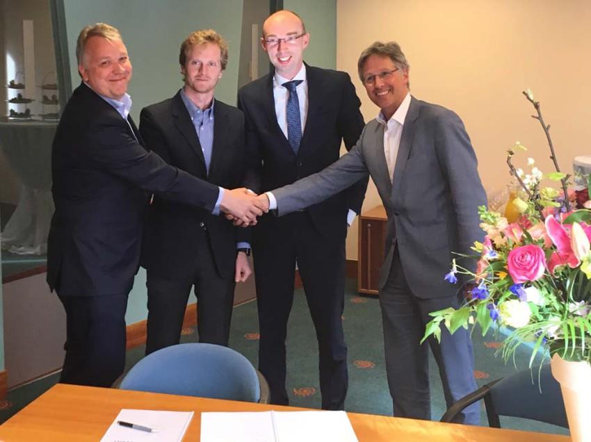 Synchroon en gemeente De Bilt tekenen overeenkomst voor centrumontwikkeling Vinkenplein, Bilthoven