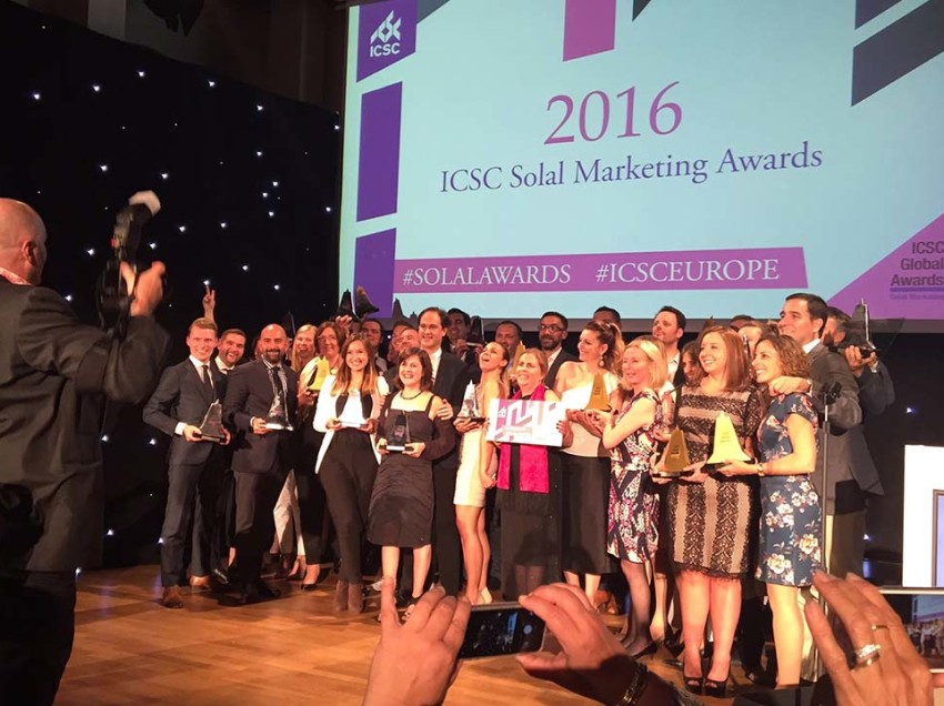 Multi wint zes ICSC Solal Marketing Awards