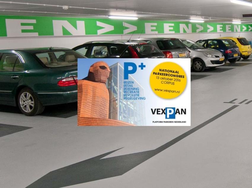 Vexpan Nationaal Parkeercongres op 13 oktober 2016