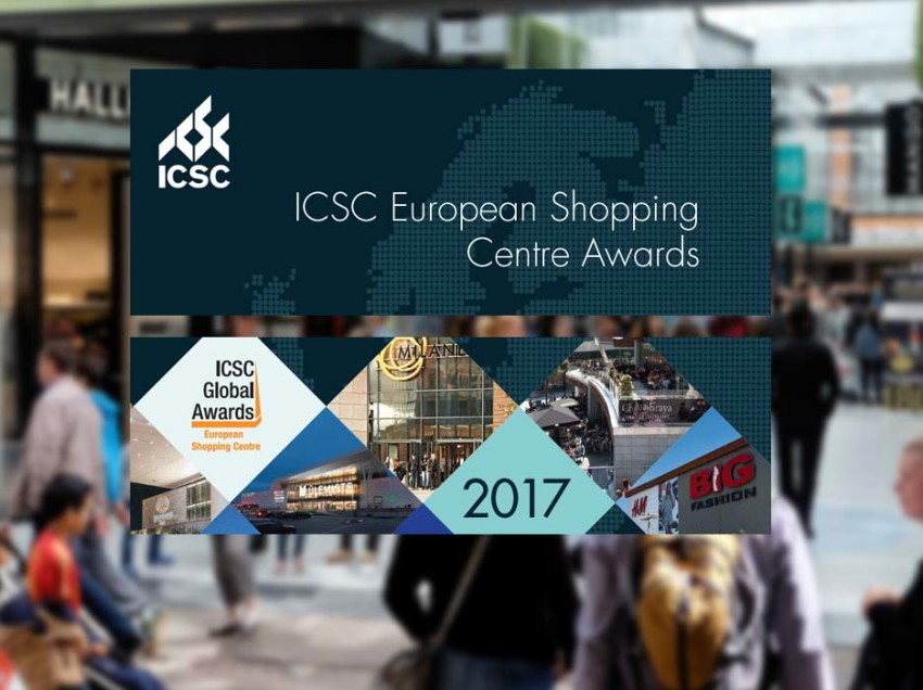 Stuurt u uw project in voor de ICSC European Shopping Centre Awards?
