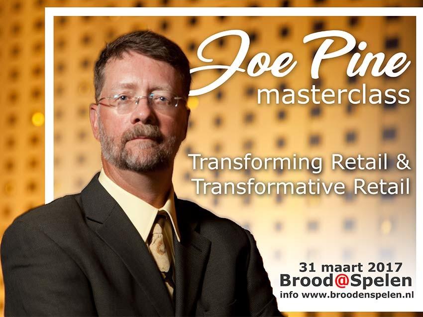 Masterclass met Joe Pine ('Mr. Experience')