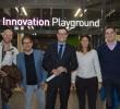 Studenten helpen Haagse retailondernemers met social media