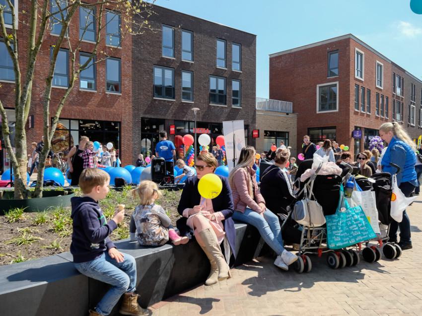 Feestelijke opening winkelcentrum Schuytgraaf in Arnhem