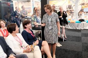 Brigit Gerritse interviewt Ines van Steenbergen (Bouwinvest), voor het voor de NRW Jaarprijs 2017 genomineerde project Beurspassage