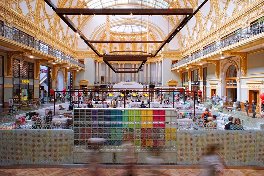 Multi Corporation has signed a lease with H M brand Weekday for an 850-sqm  store in its shopping centre Stadsfeestzaal in the Antwerp city centre. 5f9b60e2742d7