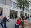 De winkelleegstand in 57 Europese stadscentra