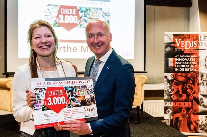 Winnaar VEDIS Retail Scriptieprijs 2017 bekend