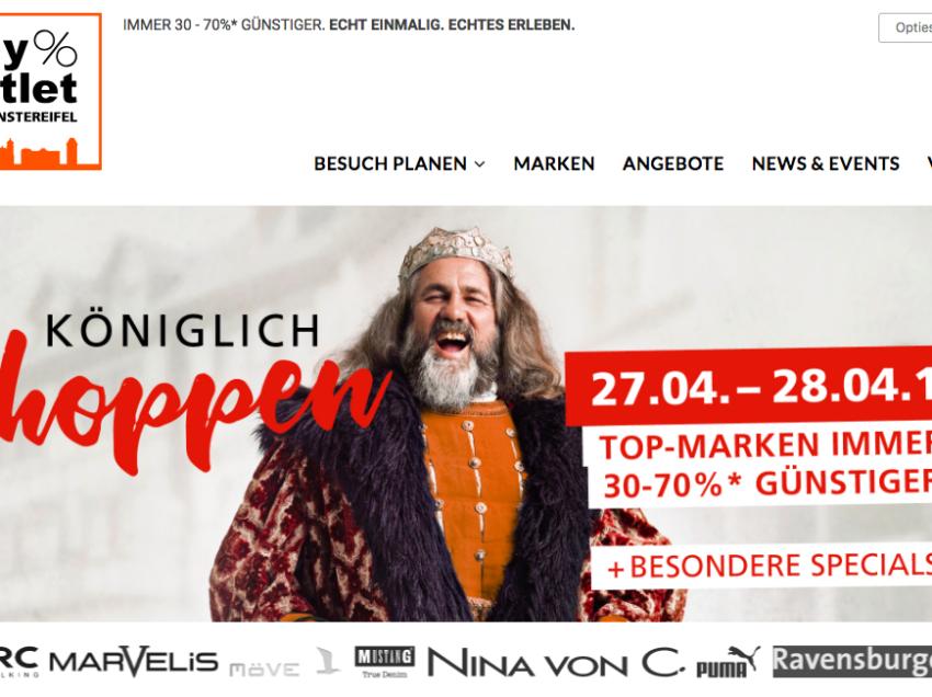 City-Outlet Bad Münstereifel kiest Koningsdagthema voor promotie