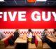 Five Guys opent in Almere Centrum