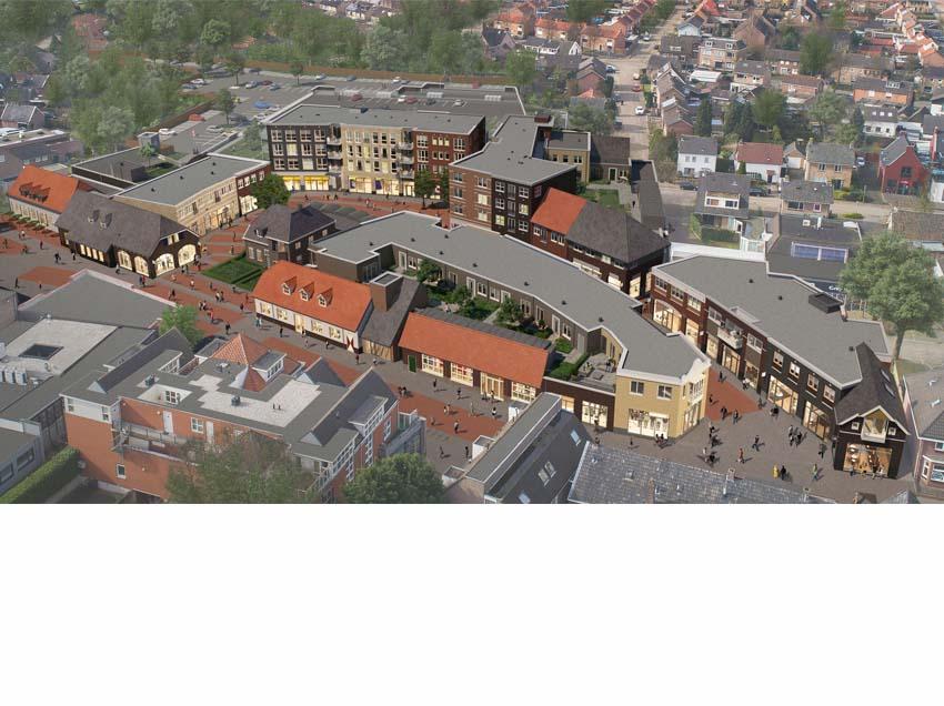 Foruminvest verhuurt laatste winkels Centrumplan Rosmalen
